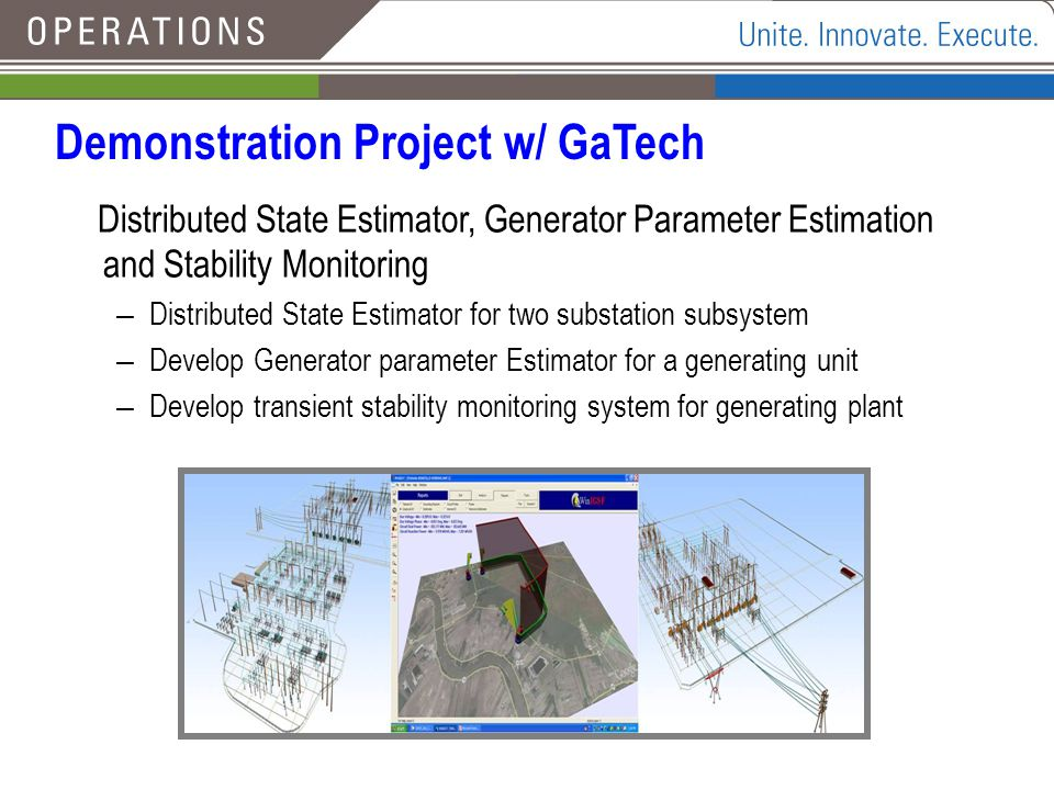 Demonstration Project w/ GaTech