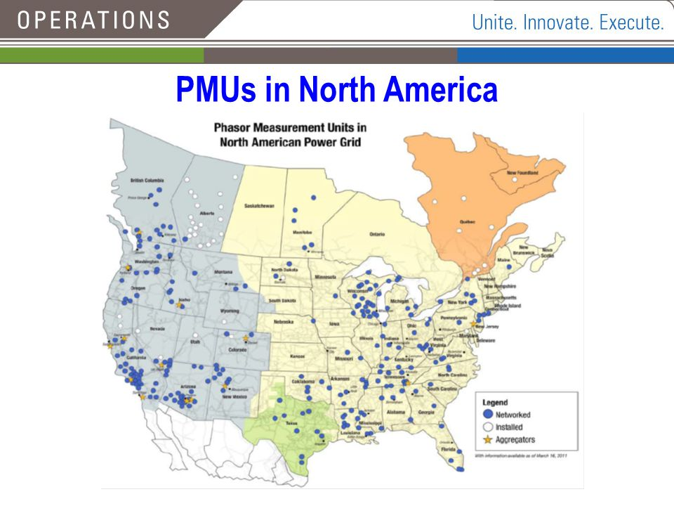 PMUs in North America