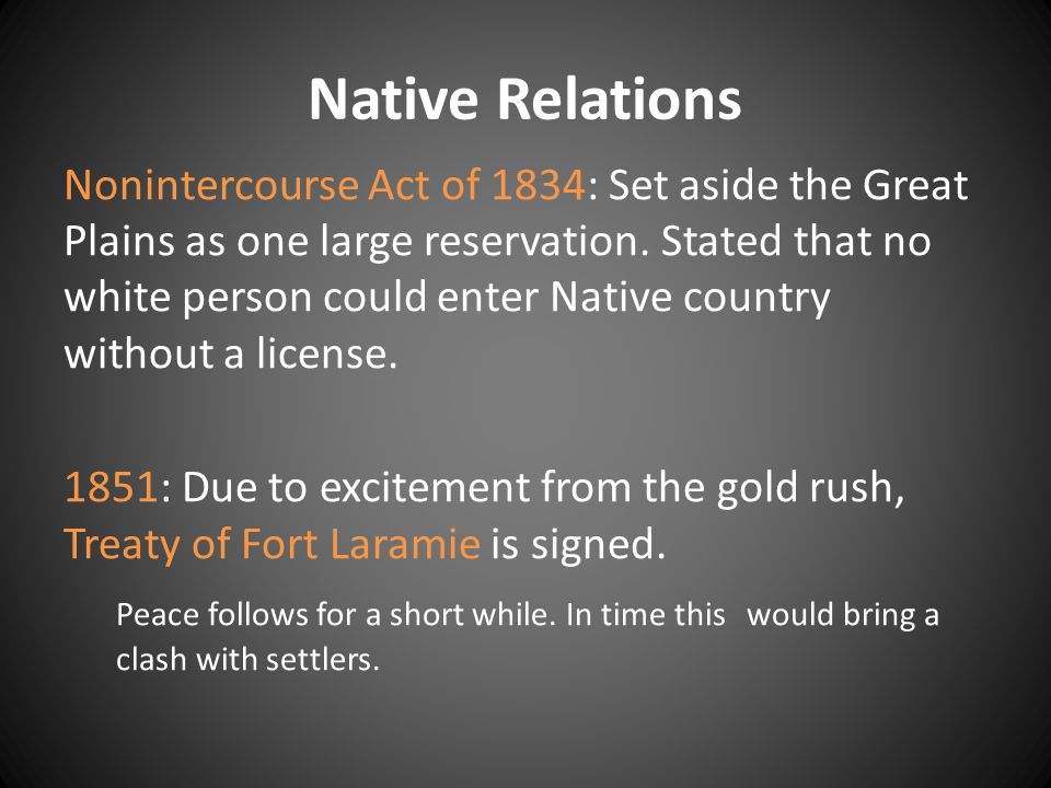 Native Relations