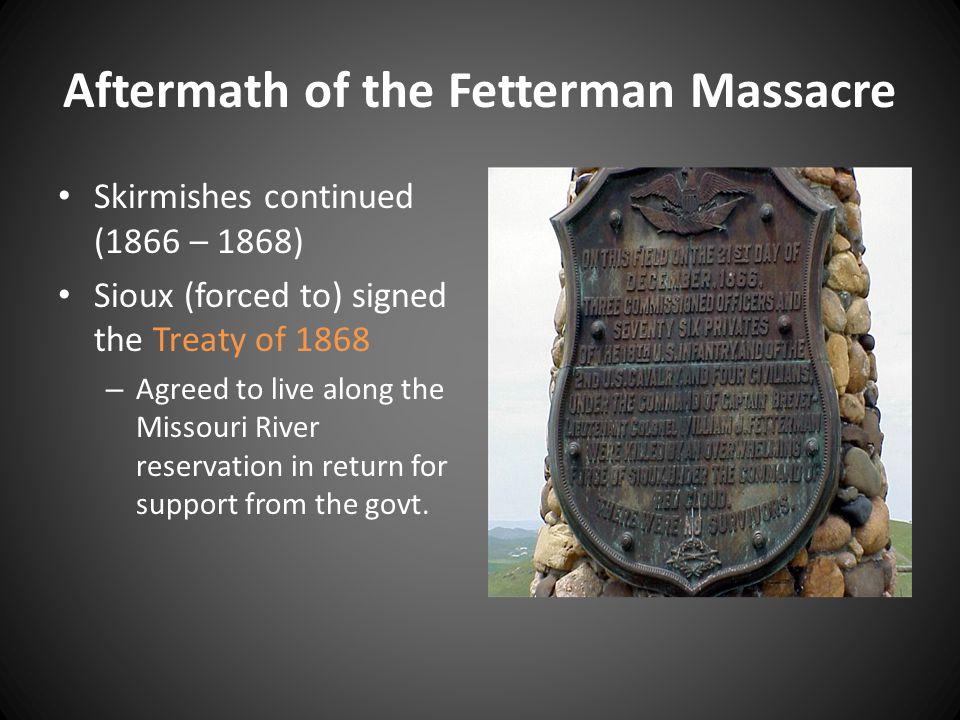 Aftermath of the Fetterman Massacre