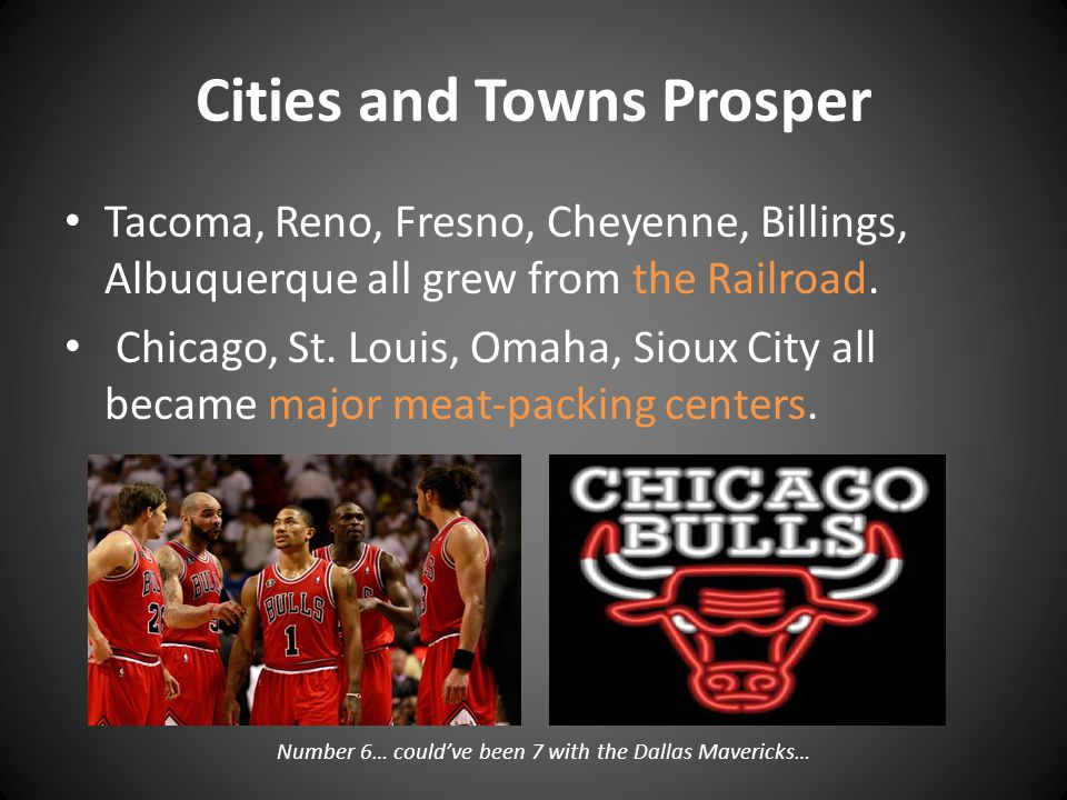 Cities and Towns Prosper