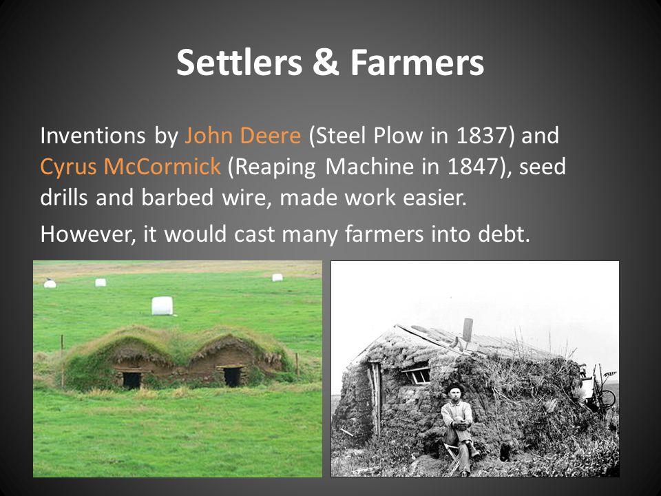 Settlers & Farmers