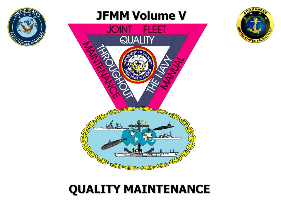 JFMM Volume V QUALITY MAINTENANCE