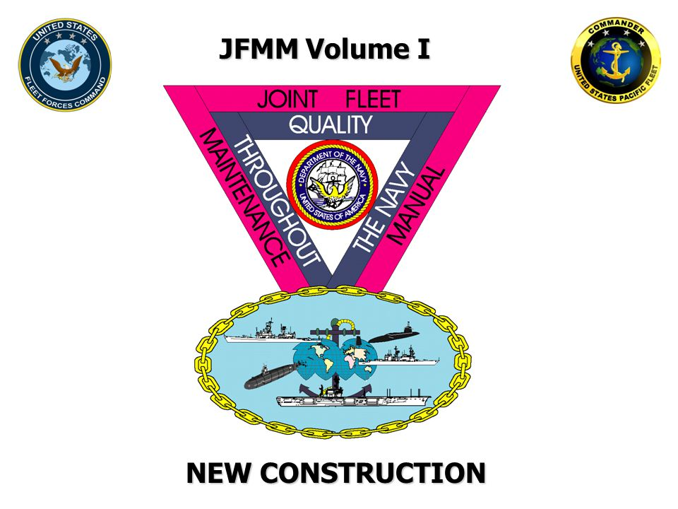 JFMM Volume I NEW CONSTRUCTION
