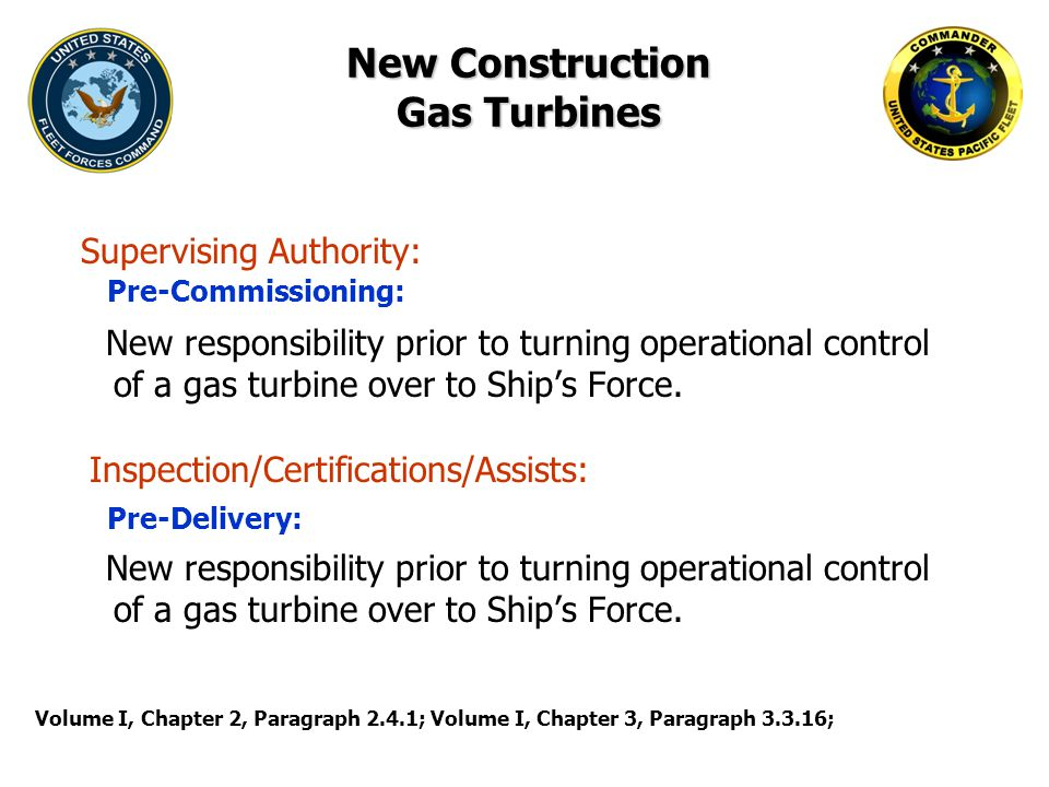 New Construction Gas Turbines