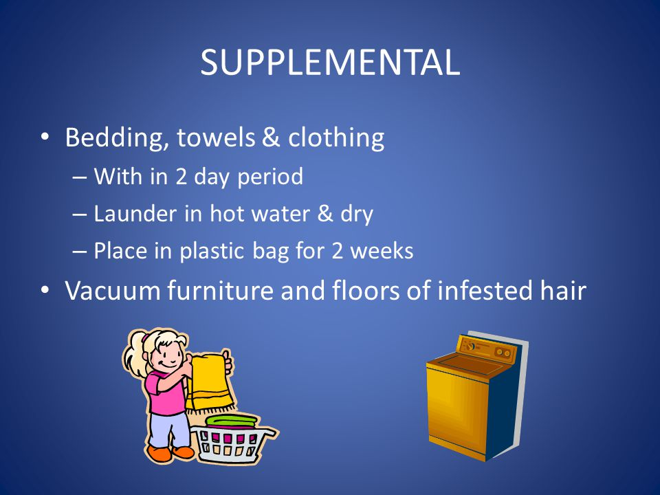 SUPPLEMENTAL Bedding, towels & clothing