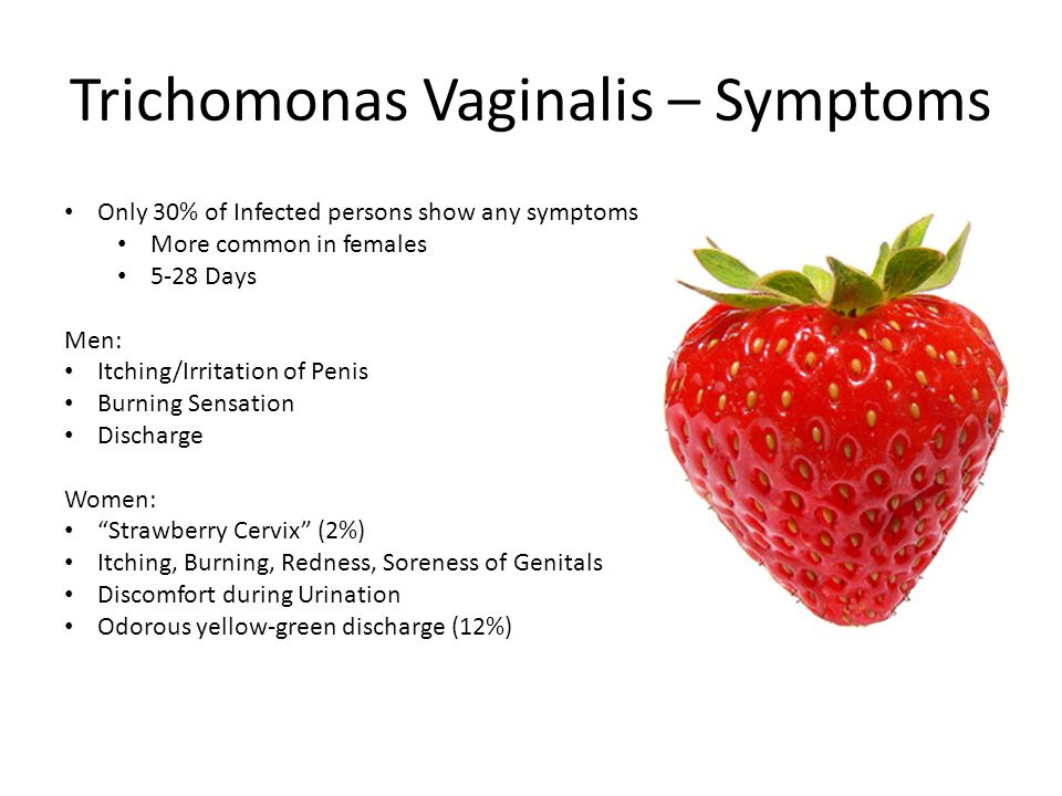Trichomonas Vaginalis – Symptoms