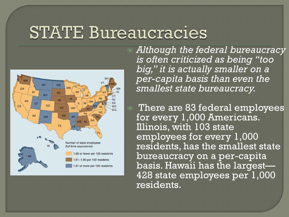 STATE Bureaucracies