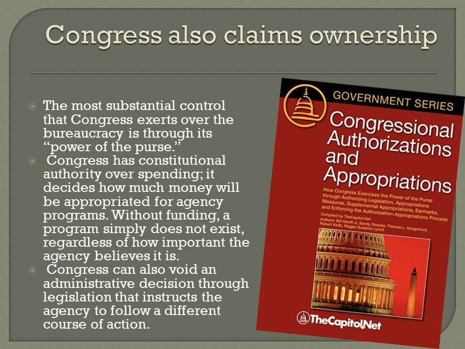 Congress also claims ownership
