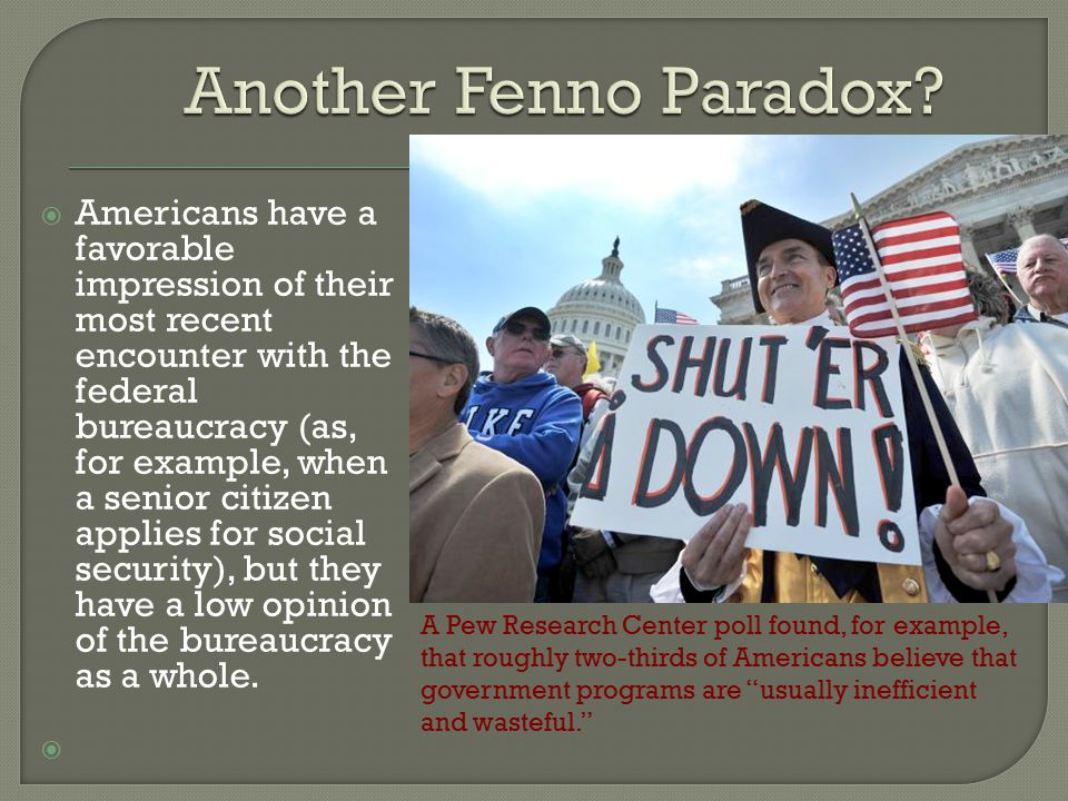 Another Fenno Paradox