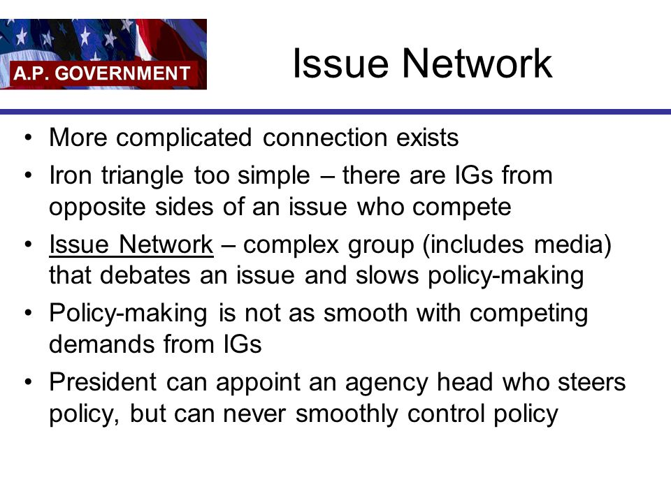 Issue Network More complicated connection exists