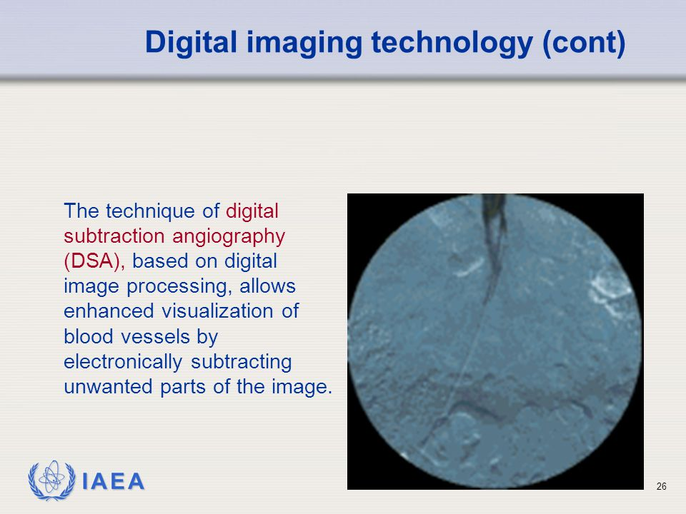 Digital imaging technology (cont)