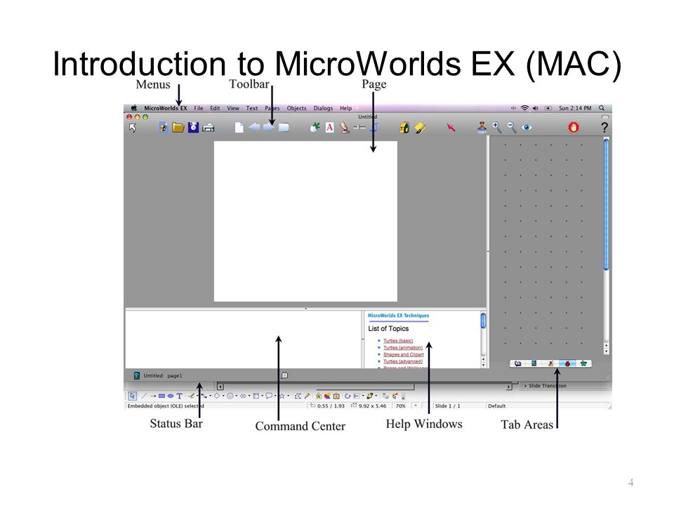 Introduction to MicroWorlds EX (MAC)