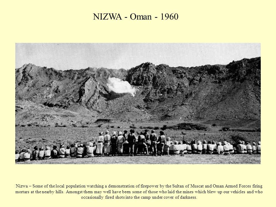 NIZWA - Oman - 1960