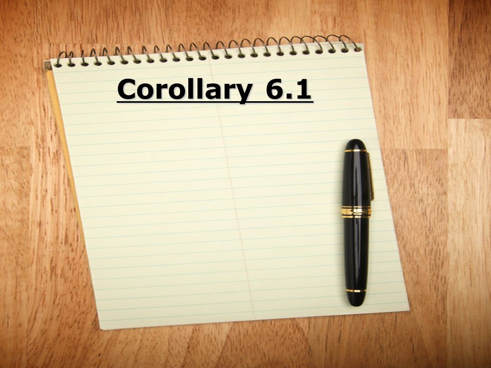 Corollary 6.1
