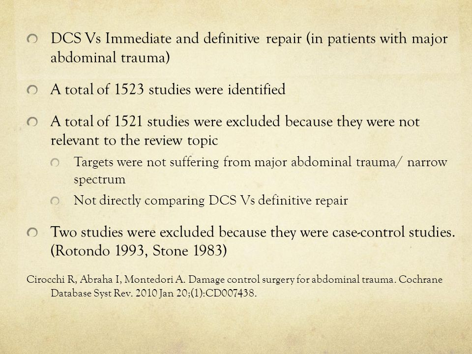 A total of 1523 studies were identified