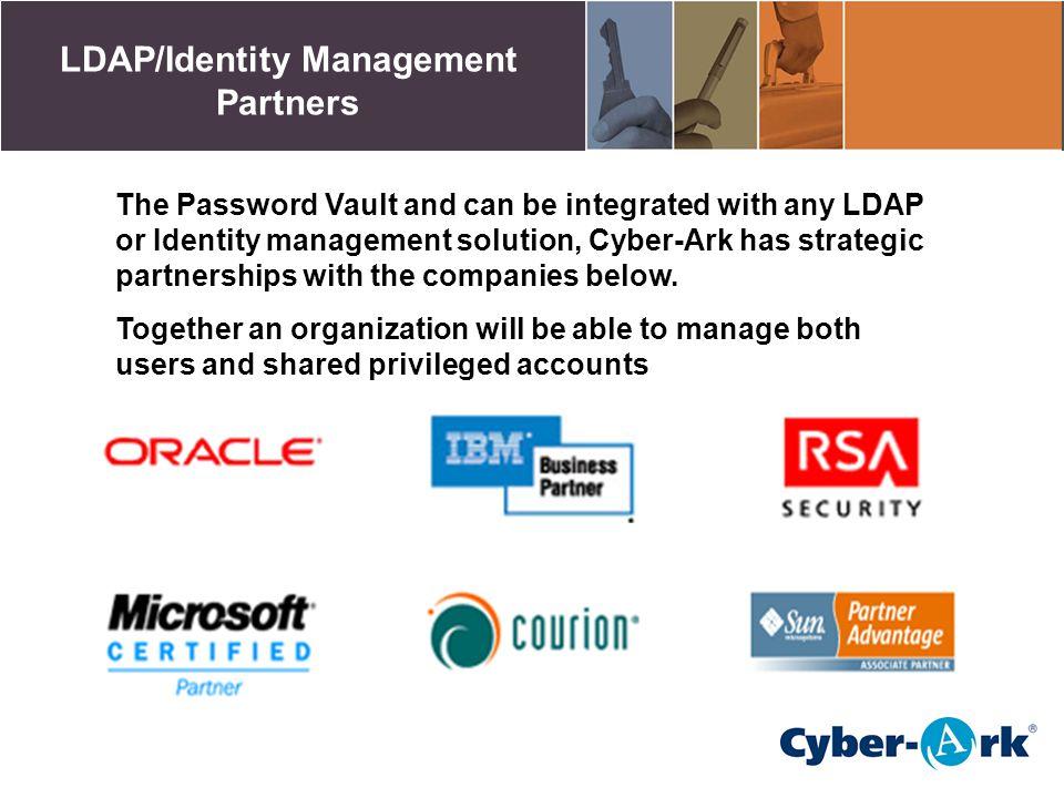 LDAP/Identity Management Partners
