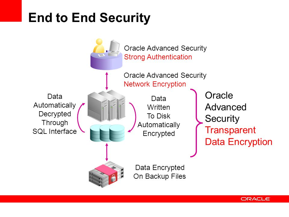 End to End Security Oracle Advanced Security