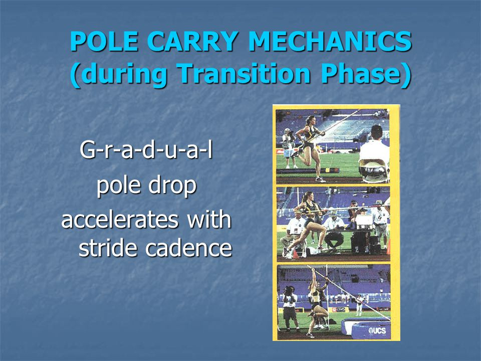 POLE CARRY MECHANICS (during Transition Phase)