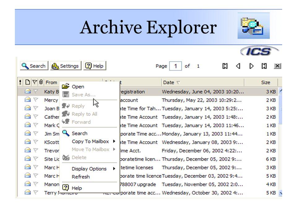 Archive Explorer