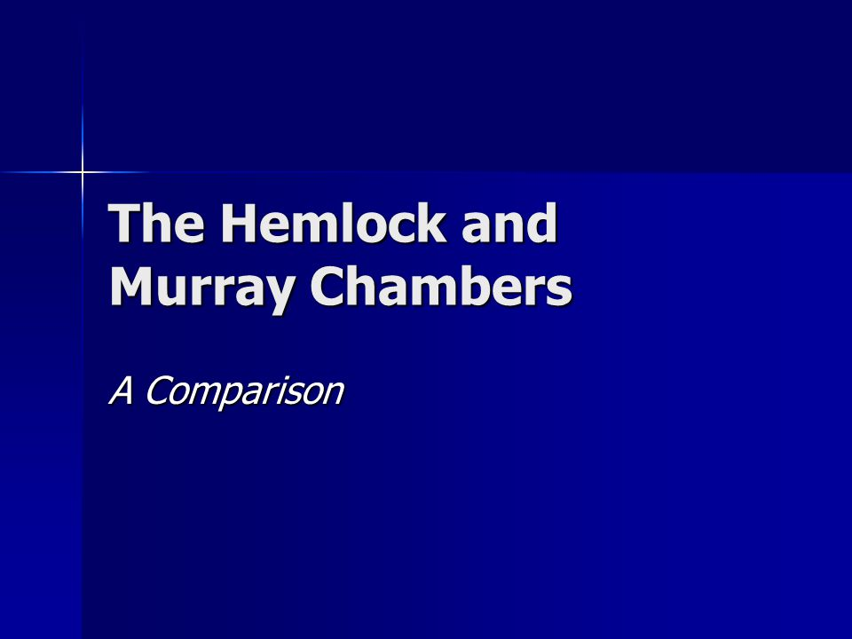 The Hemlock and Murray Chambers