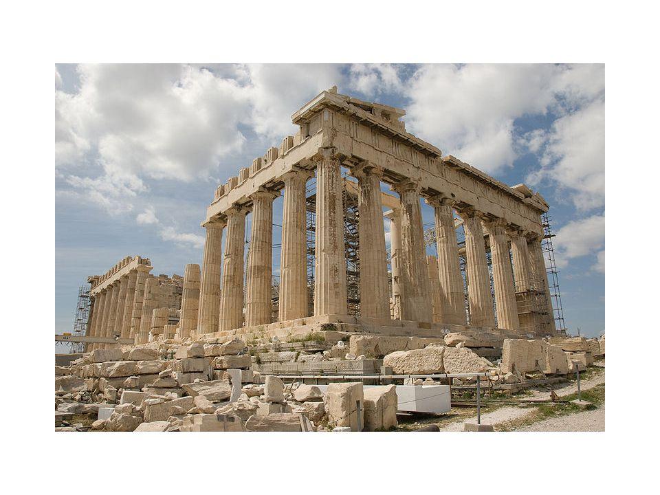 Parthenon, Acropolis, Athens- 448-432 BCE- Doric Temple