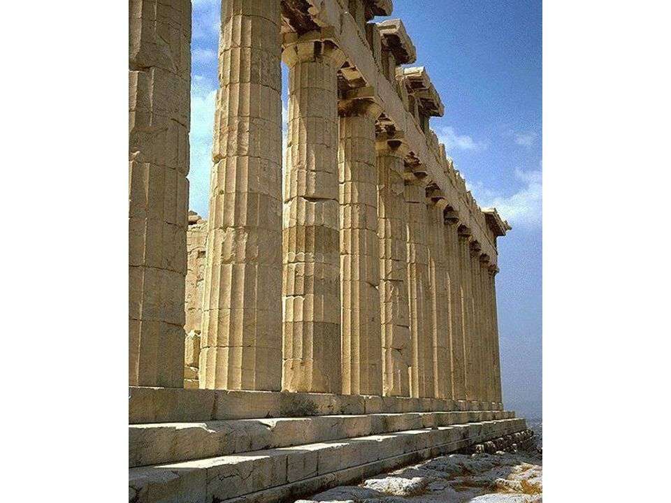 Detail of Doric Columns