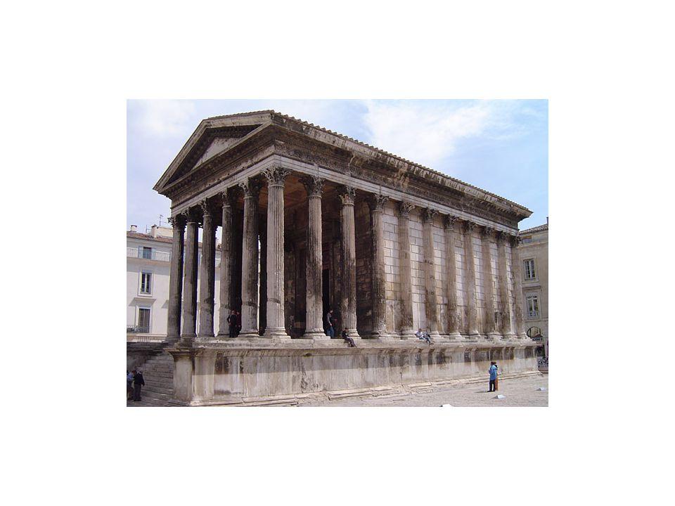 Maison Carree, Nimes, France-16 BCE- Corinthian order
