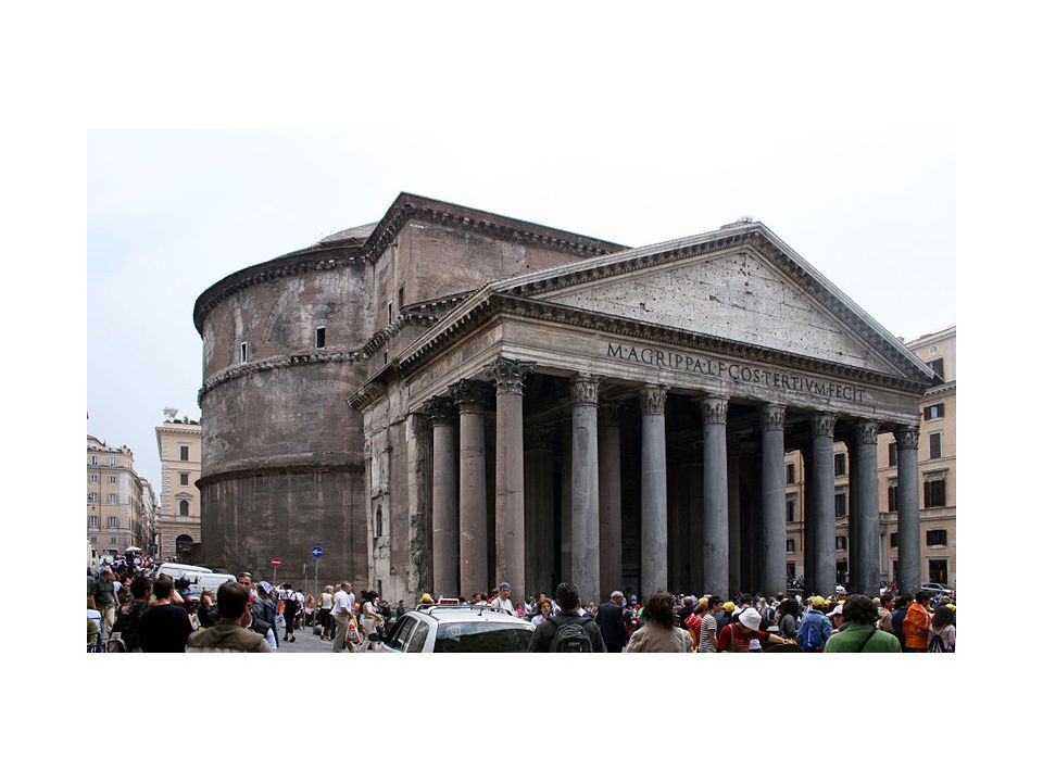 Pantheon, Rome, 118-125 CE. Dome