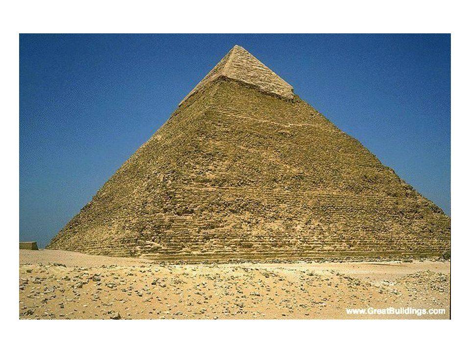 Pyramid of Khufu- finished 2560 BCE- largest, oldest of Giza necropolis