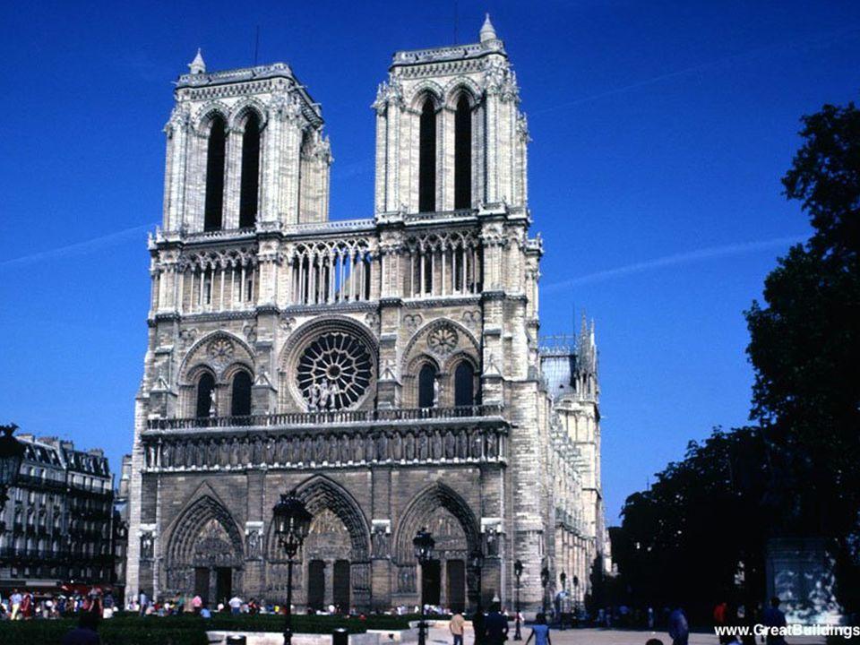 Notre Dame de Paris, 1163-1250 - Buttresses