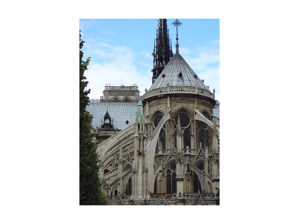 Notre Dame- Flying buttresses