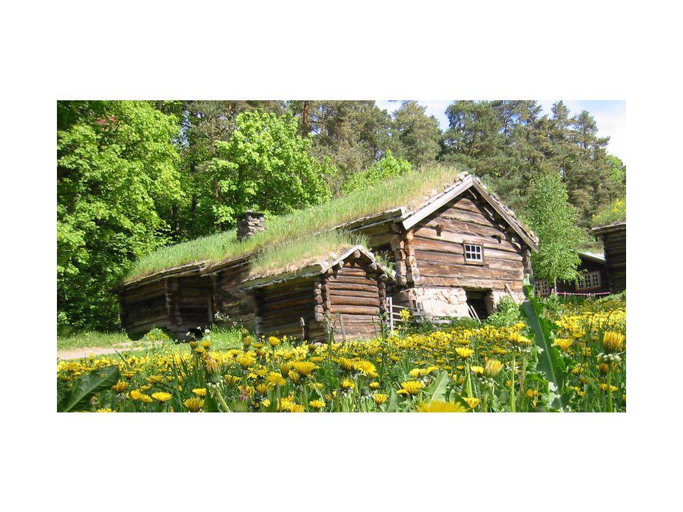 Log cabin: Oslo, Norway- Norwegian Museum of Cultural History