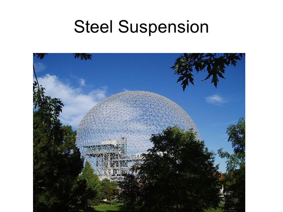 Steel Suspension Buckminster Fuller, Geodesic dome- 1959.