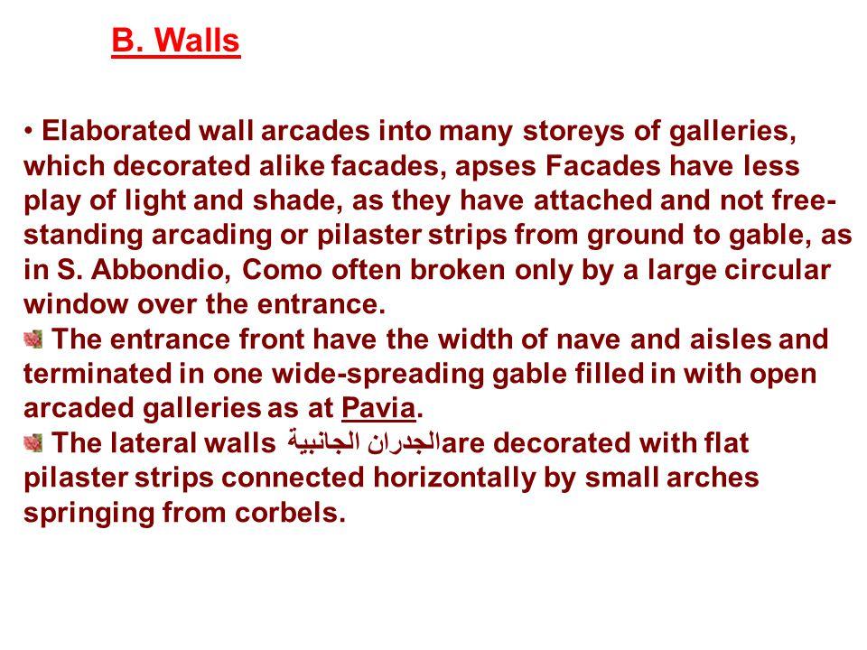 B. Walls