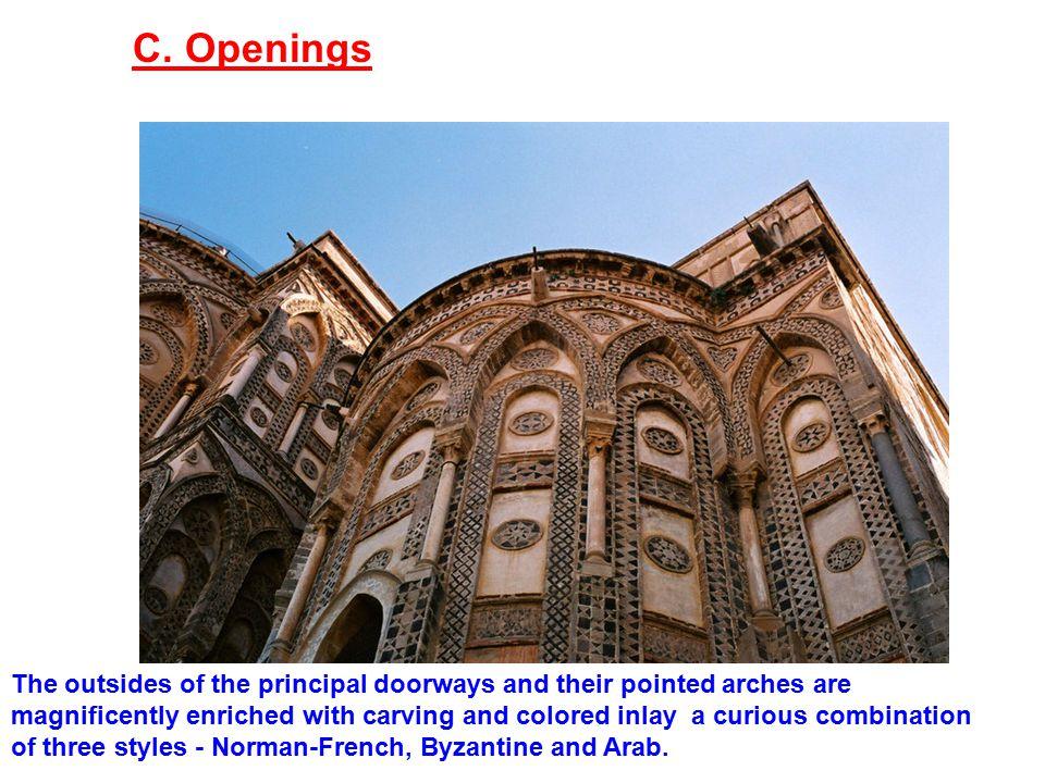 C. Openings