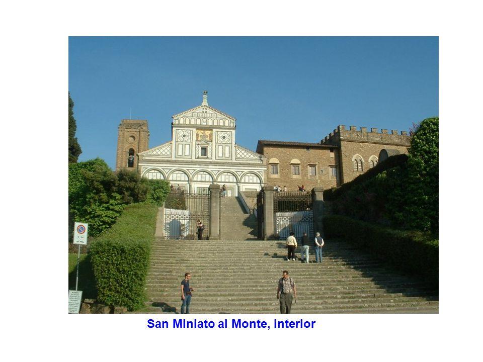 San Miniato al Monte, interior