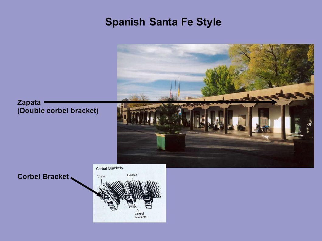 Spanish Santa Fe Style Zapata (Double corbel bracket) Corbel Bracket