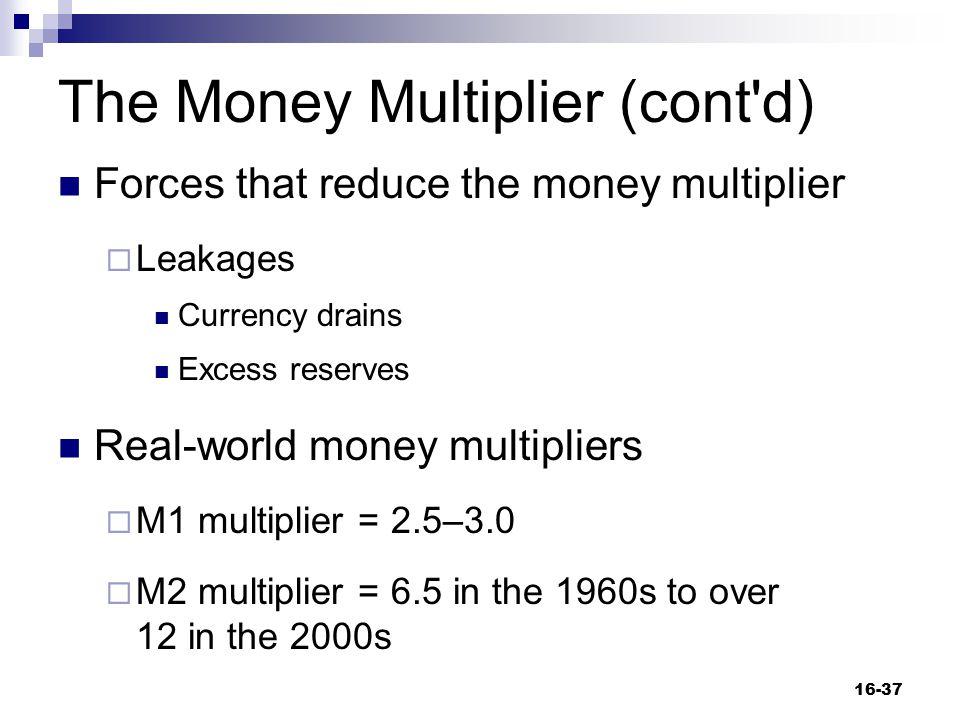 The Money Multiplier (cont d)