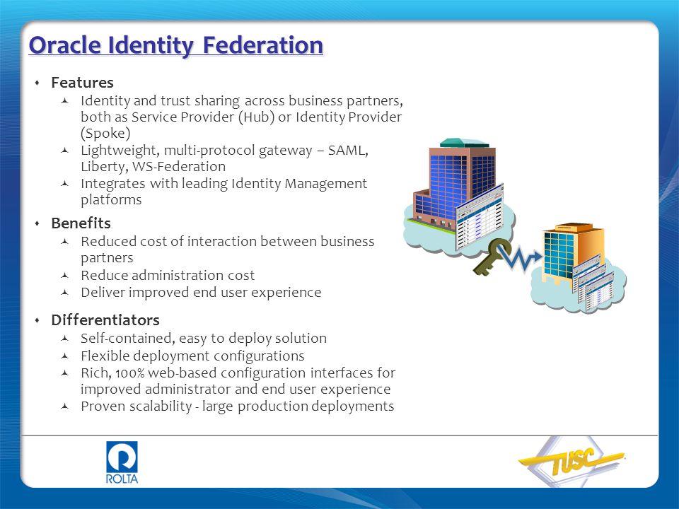 Oracle Identity Federation