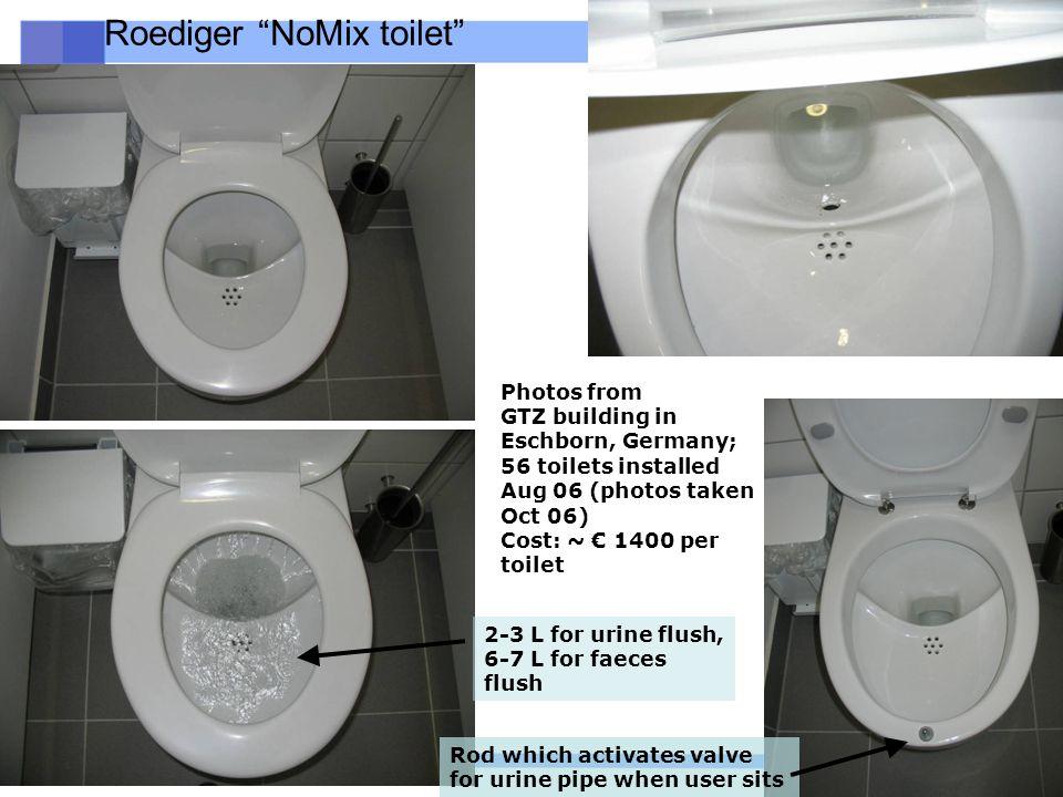 Roediger NoMix toilet