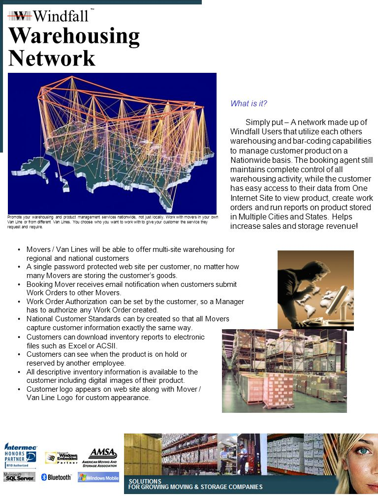 Warehousing Network Windfall