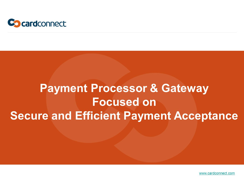 Payment Processor & Gateway Secure and Efficient Payment Acceptance