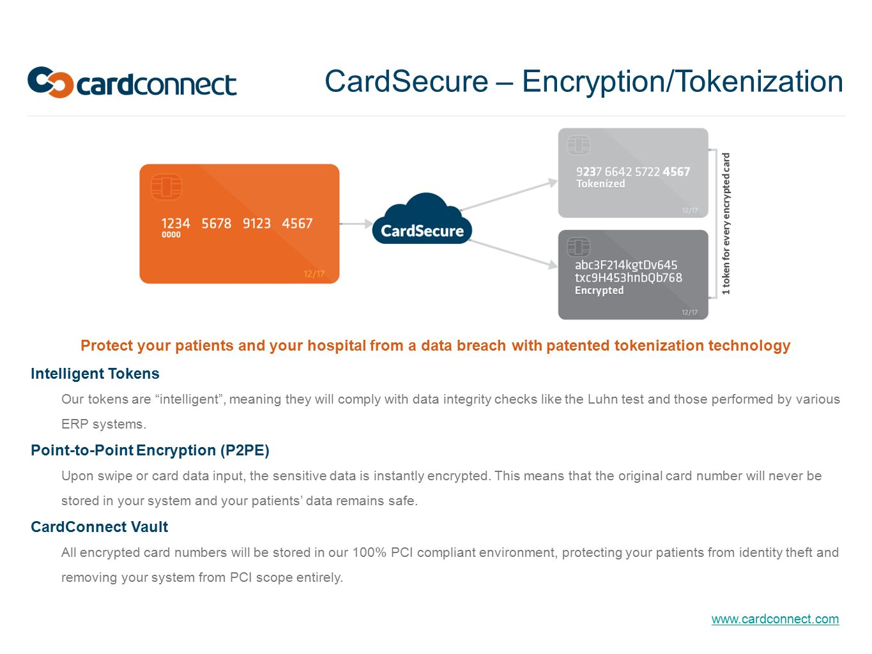 CardSecure – Encryption/Tokenization