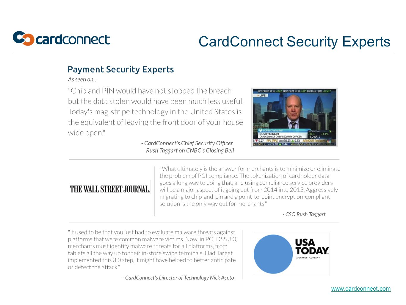 CardConnect Security Experts