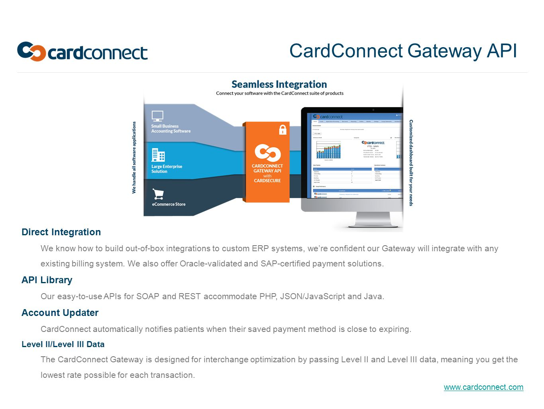 CardConnect Gateway API