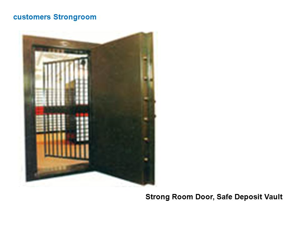 customers Strongroom Strong Room Door, Safe Deposit Vault