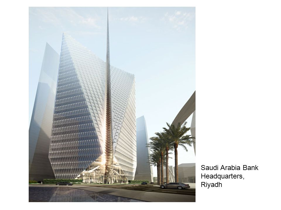 Saudi Arabia Bank Headquarters, Riyadh