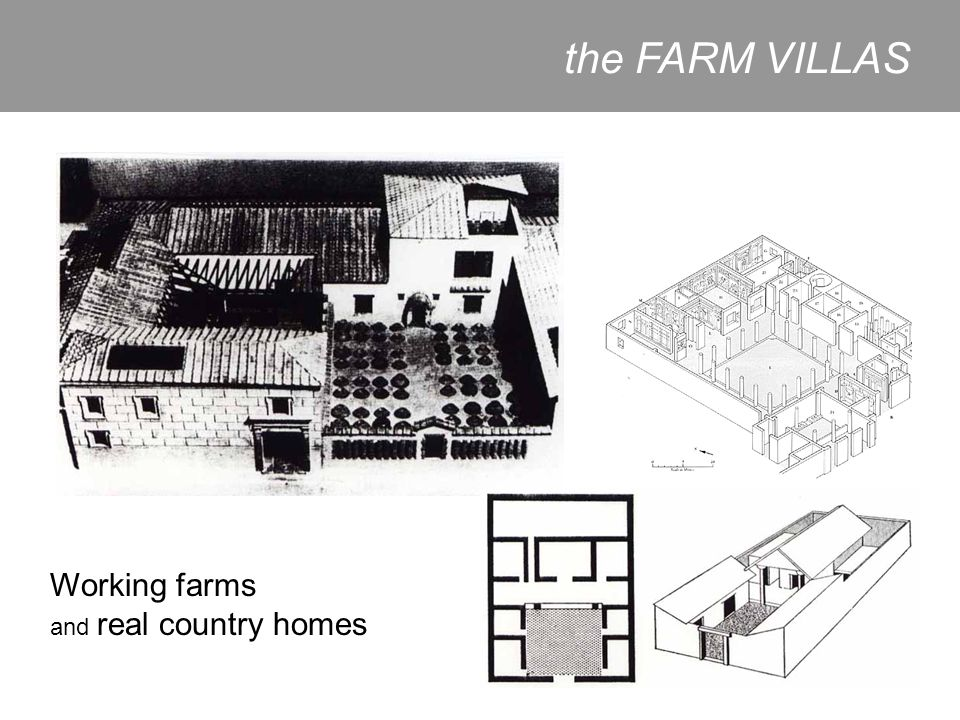 the FARM VILLAS Working farms and real country homes