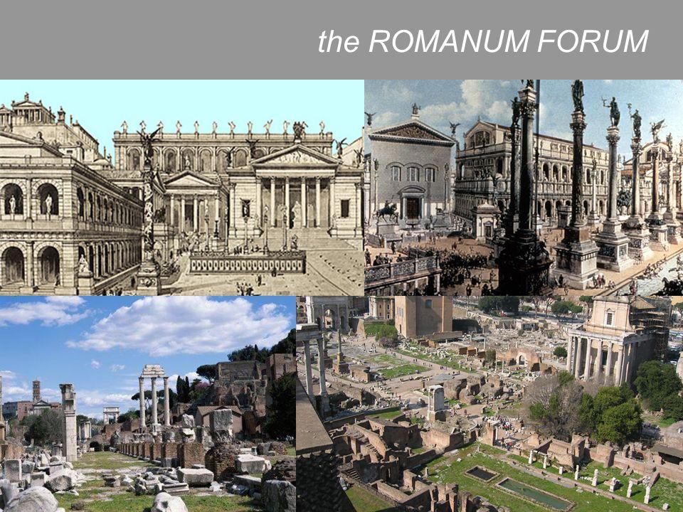 the ROMANUM FORUM